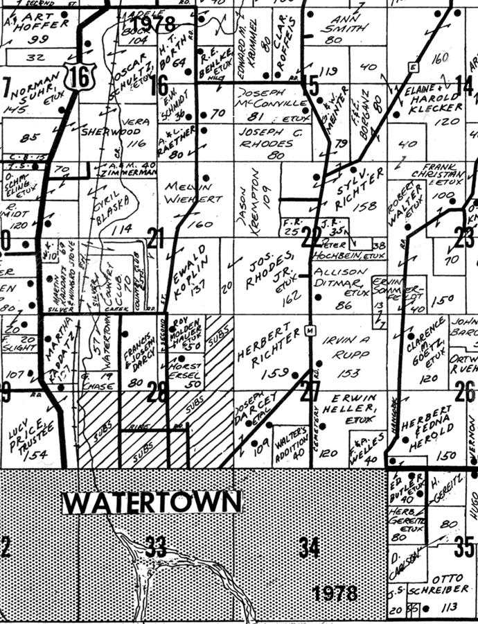 Emmet Twp. Plat 1978 JPG watertown cc 1995 Dodge Dakota PCM Connector Check Repair at edmiracle.co