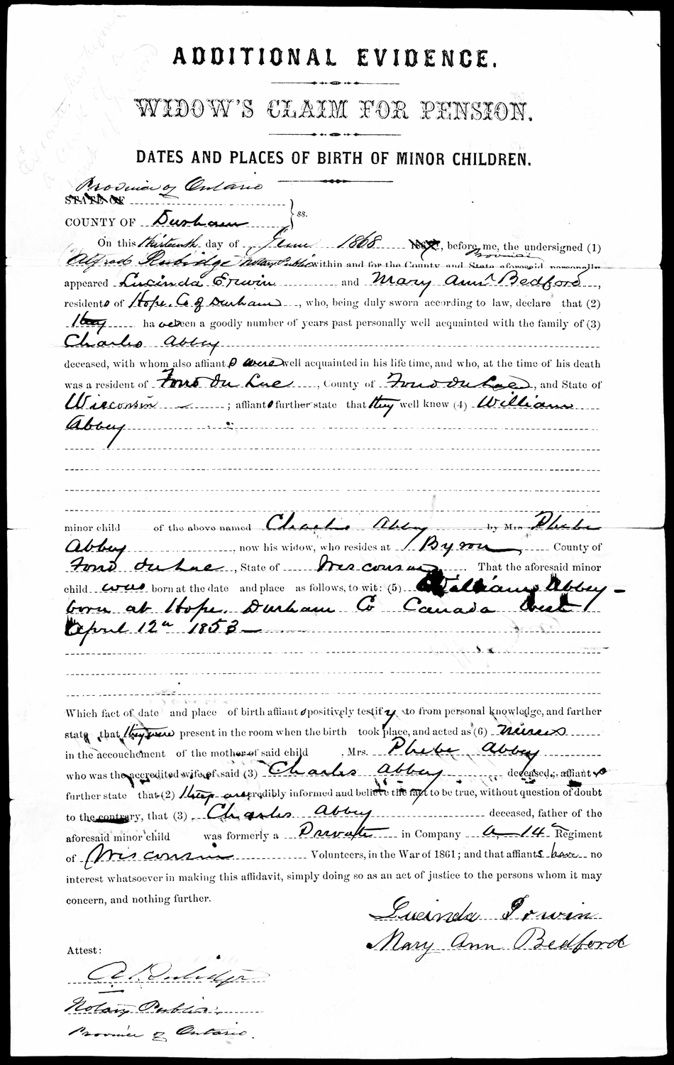 William searle abbey there was no official birth certificate at time of birth but a delayed birth certificate was created to document his birth this document was needed by the xflitez Gallery